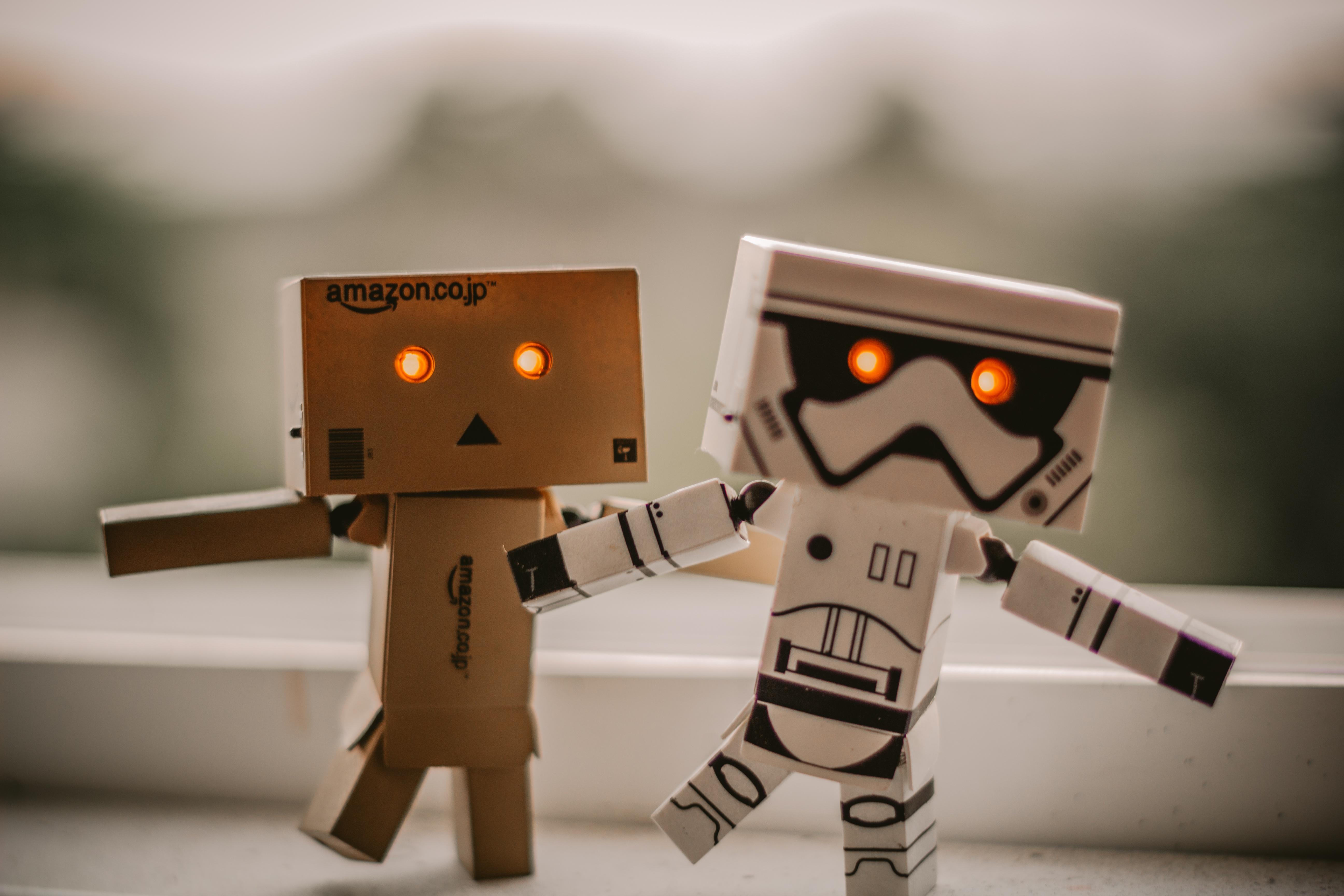 kundservice robotar och människor i samverkan